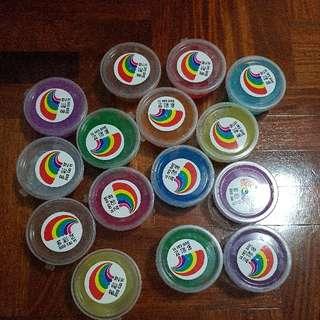 BN Diff coloured Slime $2 each