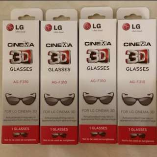 LG Cinema 3D Glasses