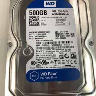 500GB HDD + preinstalled Windows 10 Pro OEM