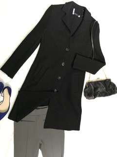 Quite New Giodano Ladies Wool Blended Coat