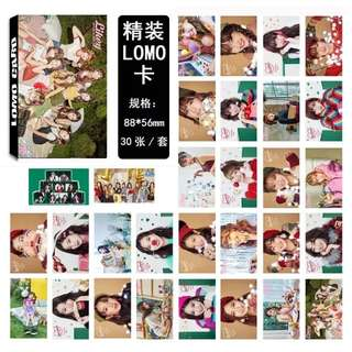TWICE LIKEY LOMO CARDS 30 PCS