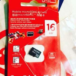 🌟SanDisk 16GB SD卡 包郵