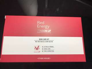 Red energy skin care kit