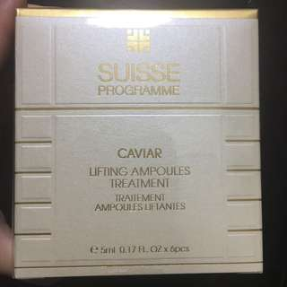Suisse Caviar Lifting Ampoules Treatment