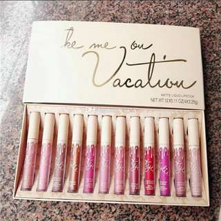 Kylie Lipset - Take me on a vacation (12pcs)