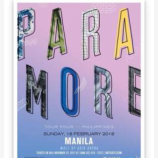 For sale: 1 Paramore Ticket UB