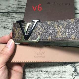 LV Men's Belt - Supreme Premium Preorder Only