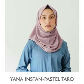 Pre-💜 Yana Instan Vanilla Hijab ORIGINAL