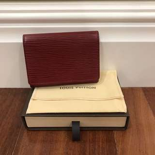 Louis Vuitton Epi Business Cardholder