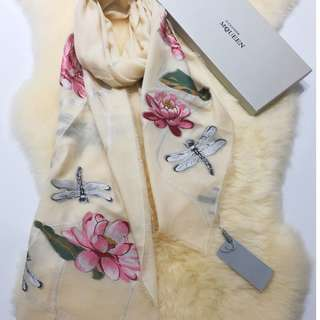 🔥Clearance🔥Boutique Identical Superior Silk Cashmere Blend Scarf OL Shawl Office Essential Travel Holiday Gift