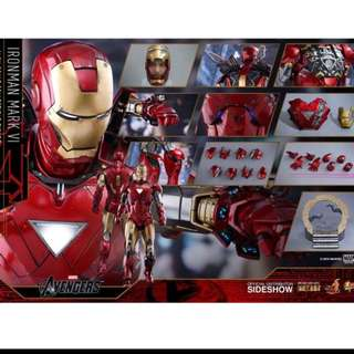 WTB 1/6 Hot Toys Ironman 2 Mark VI Tony Stark Special Edition