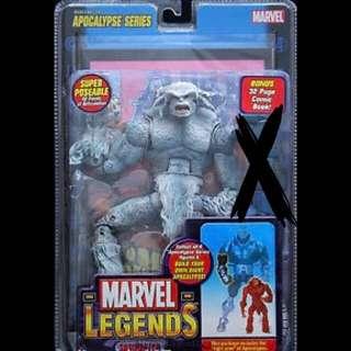 Marvel Legends Sasquatch (White variant) Action Figure