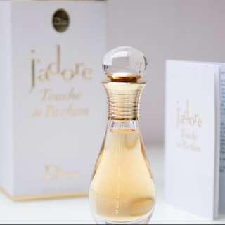 BNIB Jàdore Touche De Parfum