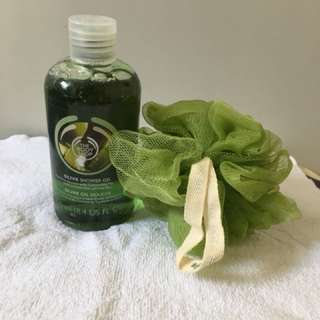 Body Shop 橄欖沐浴露 Olive shower gel