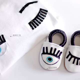 Chiara eyes baby Prewalker Shoes