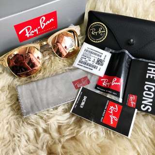 RAY-BAN Clubmaster Wood