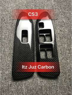 Mitsubishi CS3 Carbon power window panel