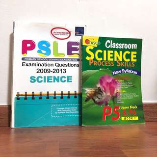 p5 and p6 science assessment books