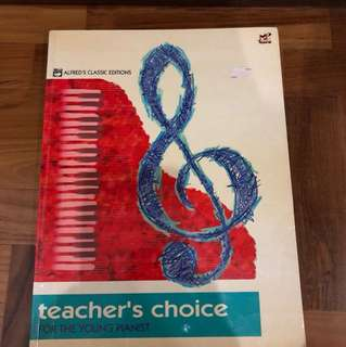 Teacher's Choice For the Young Pianist