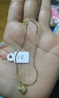 Bracelet 18k 1.2g