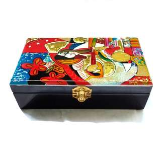Accessories Box with Mirror - Design 9