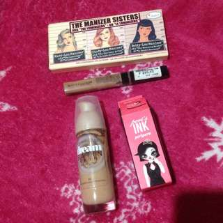 GET ALL! Maybelline Foundation, Concealer, Peripera's Ink, The Balm