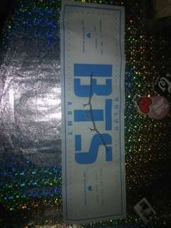 BTS a.r.m.y bracelet -ready stock