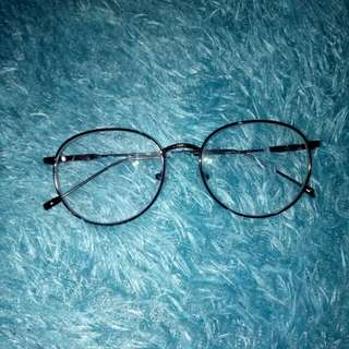 Round Big Brown Specs w / 75 grade, anti radiation,and transition