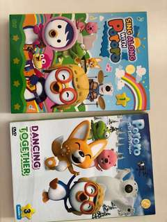 Pororo sing along and dancing together DVD