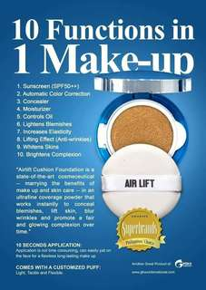 Air Lift - cushion foundation