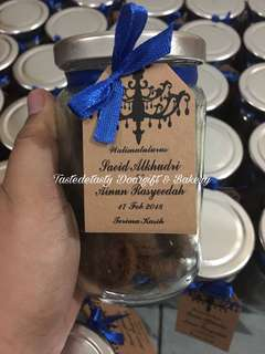 Doorgift Cookies In Jar