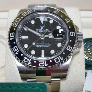 Brand new Rolex GMT Master II 116710LN