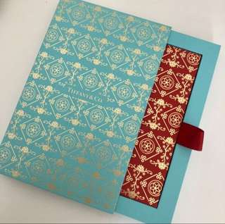 Tiffany red pockets 名牌利是封 8pcs