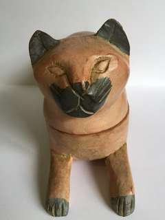 Vintage Cat Toothpick Holder