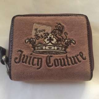 Auth Juicy Couture Bifold Zipper Wallet
