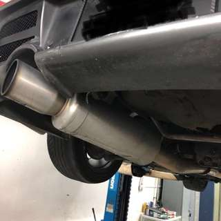 Subaru WRX GDA fuji Exhaust with Cert
