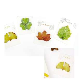 < preorder > leaf post it sticky note