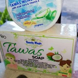 Tawas Soap and Cream