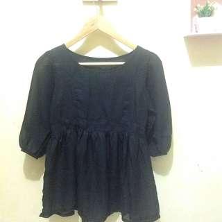 Black cloth (preloved)
