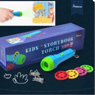 Educational toy - Kids story book torch