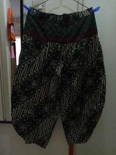 Aladdin batik long pants