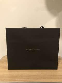 Branded paper bag BOTTEGA VENETA