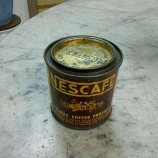 Nestle's Nescafe Small Tin Vintage