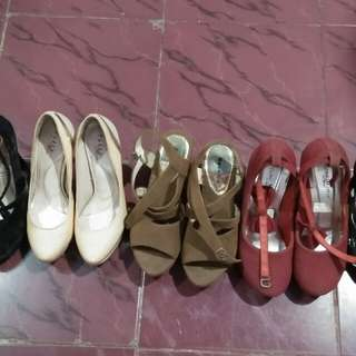 high heels dan wedges