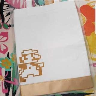 Shu Uemura Super Mario Canvas Tote Bag