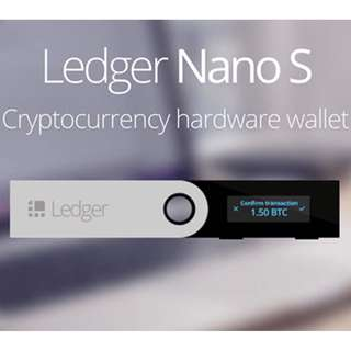 [PO] Official Ledger Nano S Crypto Cryptocurrency