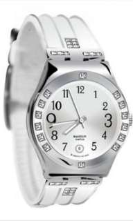 SWATCH Rubber Strap Crystal YLS430 #123moveon