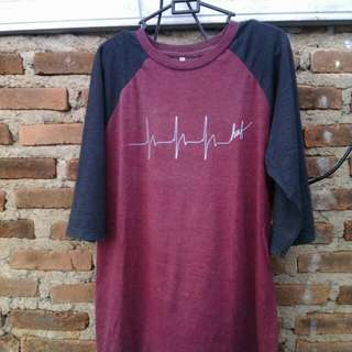T-Shirt raglan Huf