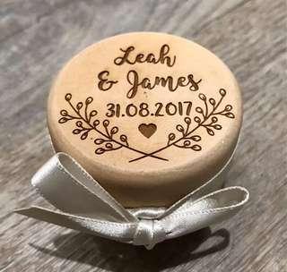訂製木戒指盒