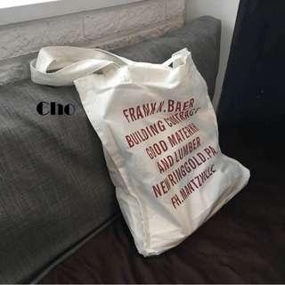 Cho Canvas Tote Bag.